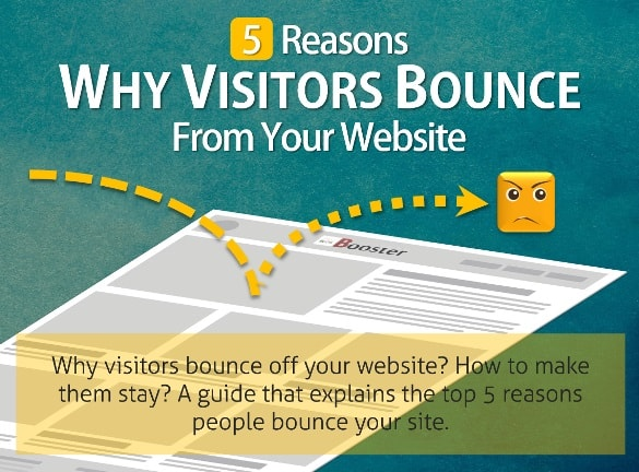 Reasons Why Visitors Bounce From Your Website