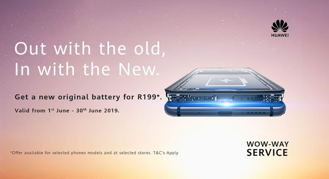 Is It Time To Replace Your Phone Battery? @HuaweiZA #Smartphone #WowWay