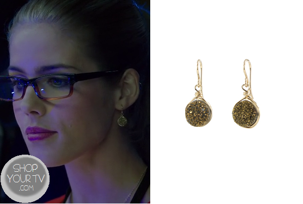 Arrow: Season 2 Episode 8 Felicitys Small Earrings  Shop ...
