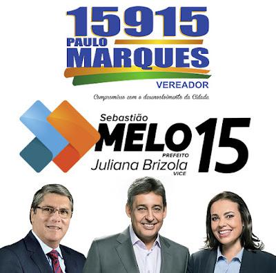 PAULO MARQUES, SEBASTIAO MELO E JULIANA BRIZOLA
