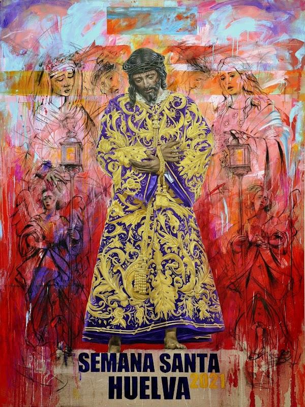 El Nazareno protagoniza el cartel de la Semana Santa de Huelva