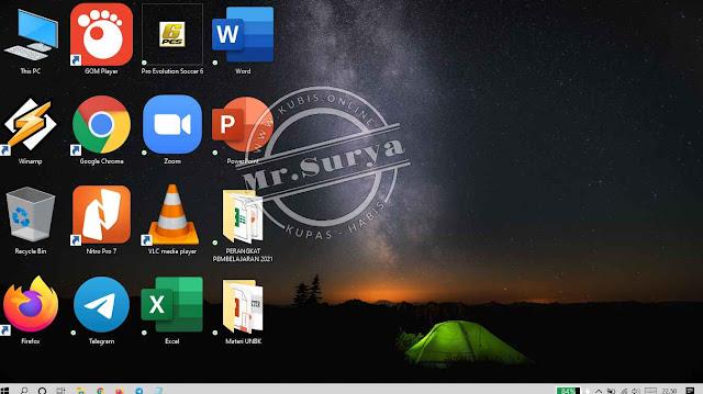 5+ Cara Memperbesar Dan Memperkecil Tampilan Ikon Dekstop Windows 10