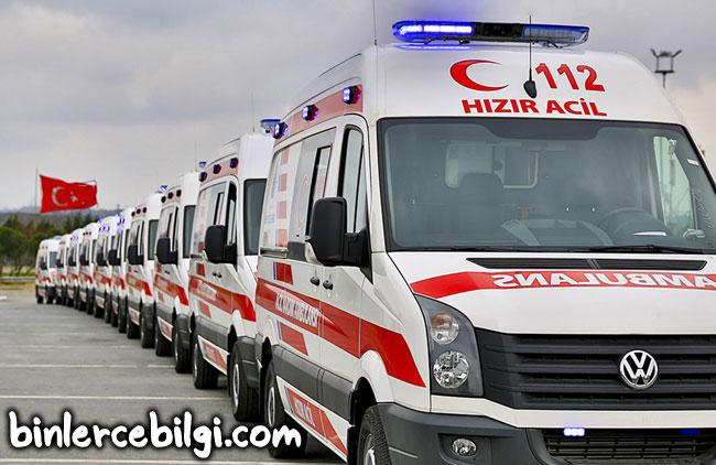 Rüyada ambulans görmek ne demek, rüyada ambulansa binmek, sireni duymak, ambulans uçak görmek, ambulansla hasta taşımak, rüyada ambulans şöförü