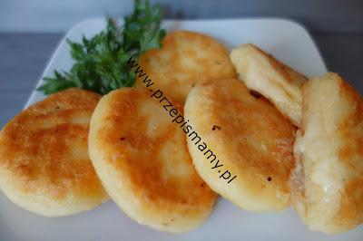 Fraszynki z serem żółtym