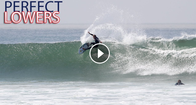 This is the PERFECT SWELL for Lower Trestles