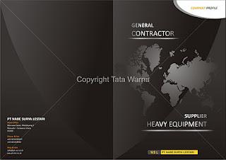 Contoh Contoh Desain Company Profile Booklet Aneka Perusahaan