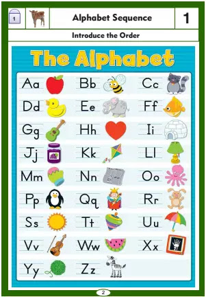 ENK Level 2: How to Teach the English Alphabet Sequence to the Young Kids