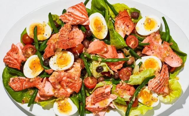 How to Make Summer Salmon Salad
