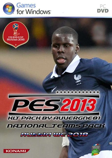 National Teams 2018 Kitpack Update - PES 2013 - PATCH PES