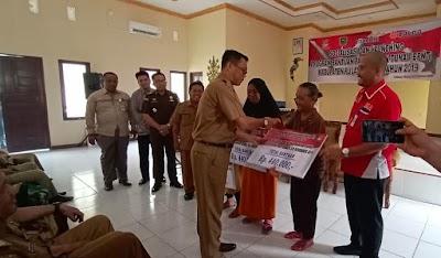 Dinsos Launching Program BPNT kepada 5783 KPM