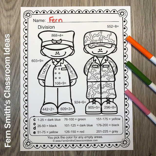 Click Here to Download this Color By Number Divide 3-Digit Dividend by 1-Digit Divisor Careers - Community Helpers Worksheet Resources Bundle for Your Classroom Boys and Girls Today!