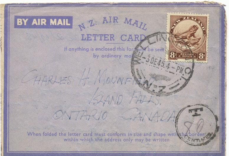 Aerogrammes & Airletters - Philatelic Archeology: März 2013