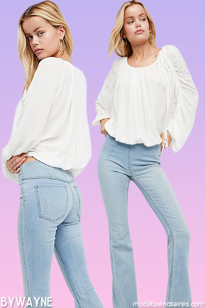 pantalones oxford 2021 jeans de verano