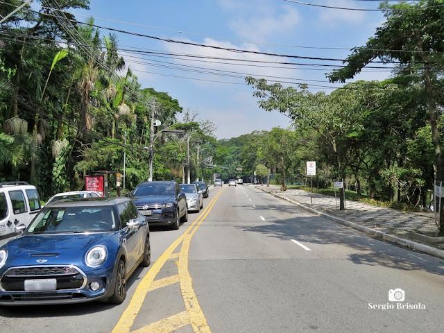 Vista de trecho da Avenida Morumbi - Morumbi - São Paulo