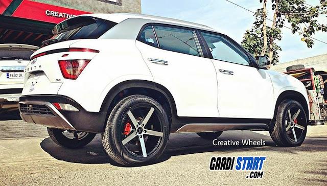 30+ Alloys wheel design for Hyundai Creta 2020