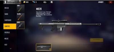 #2 سلاح فري فاير M82B