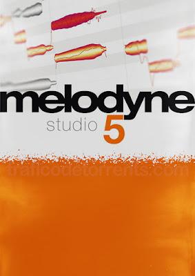 Cover Melodyne 5 Studio