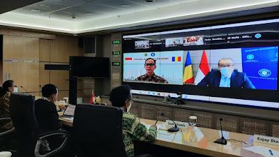 Tingkatkan Kerja Sama, Indonesia-Rumania Gelar High Level Talk