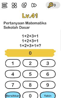 Kunci Jawaban Brain Out Level 38 Pertanyaan Matematika Sekolah Dasar Lengkap