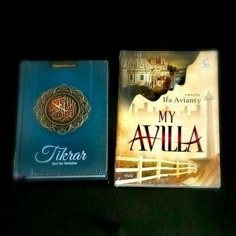 Novel My Avilla dan Quran Tikrar dan