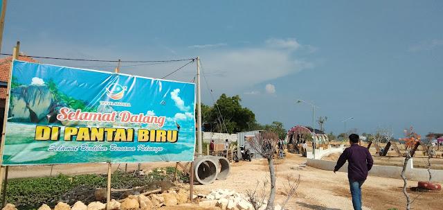 Pantai Biru, Pesona Alami Nan Eksotis di Desa Telaga Biru