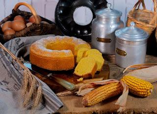 Bizcocho o torta de maiz de Guitiriz