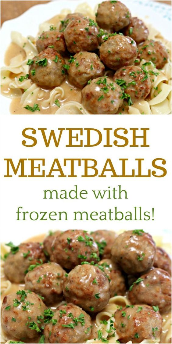 Delicious Swedish Meatballs Using Frozen Meatballs #recipes #dinnerideas #easydinnerideas #easysaturdaydinnerideas #food #foodporn #healthy #yummy #instafood #foodie #delicious #dinner #breakfast #dessert #lunch #vegan #cake #eatclean #homemade #diet #healthyfood #cleaneating #foodstagram
