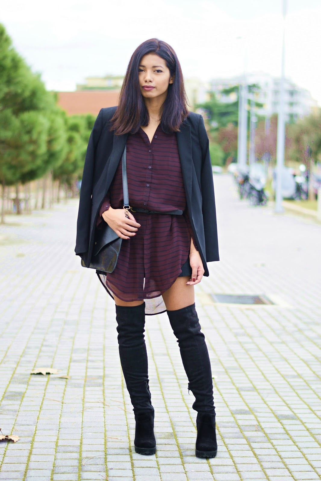 how to style shirtdress