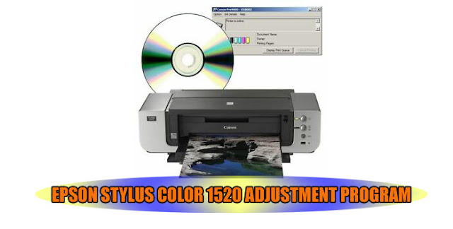 Epson Stylus Color 1520 Printer Adjustment Program