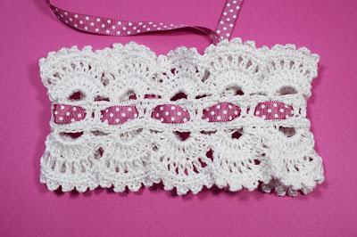 2 - Crocher Imagen Diadema de pelo realmente linda y fácil de hacer por Majovel Crochet.