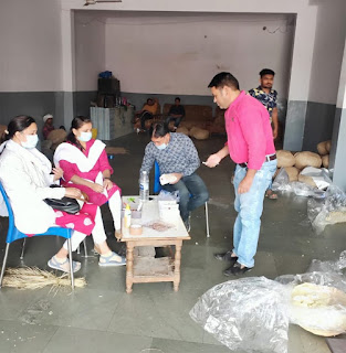 खाद्य एवं औषधि प्रशासन द्वारा 7 खाद्य पदार्थों के नमूने लिए जाकर जांच हेतु भेजे गए
