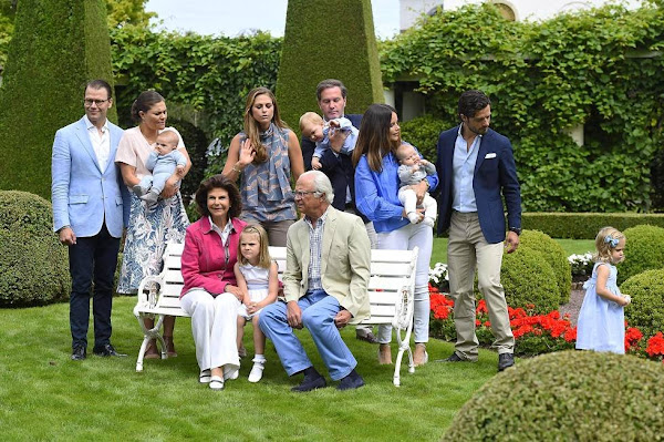 Swedish Royal Family Summer Portraits 2016 Newmyroyals