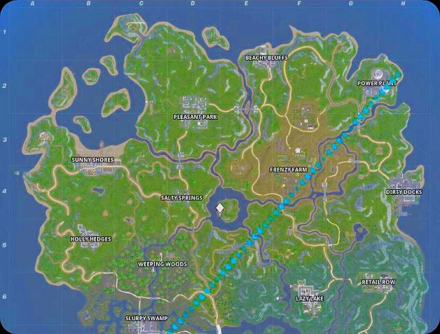 A new map in Fortnite in season 11