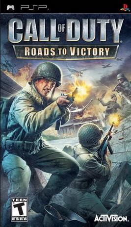 Descargar Call of Duty Roads to Victory para psp gratis multilenguaje en español 1 link soldados repartidos para liberar a Europa del régimen nazi.