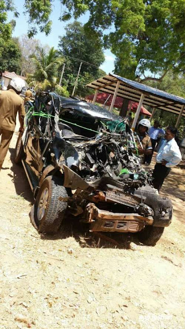 Vavuniya student killed in accident received highest AL marks in district