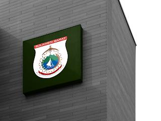 desain papan nama logo provinsi sulawesi barat - kanalmu