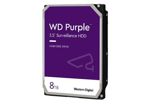 Amazon discounts up to 38% off on several Western Digital WD purple surveillance internal hard drives