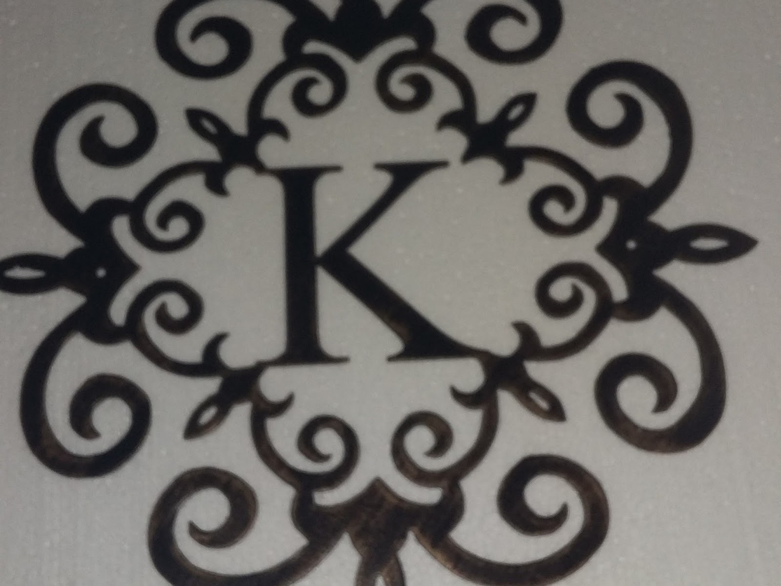 letter k wall decor