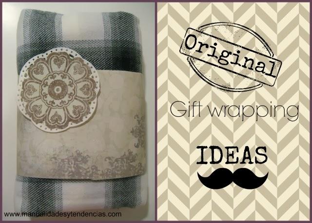 Cómo envolver regalos con papeles de scrapbooking / DIY Gift wrapping / Comment emballer les cadeaux