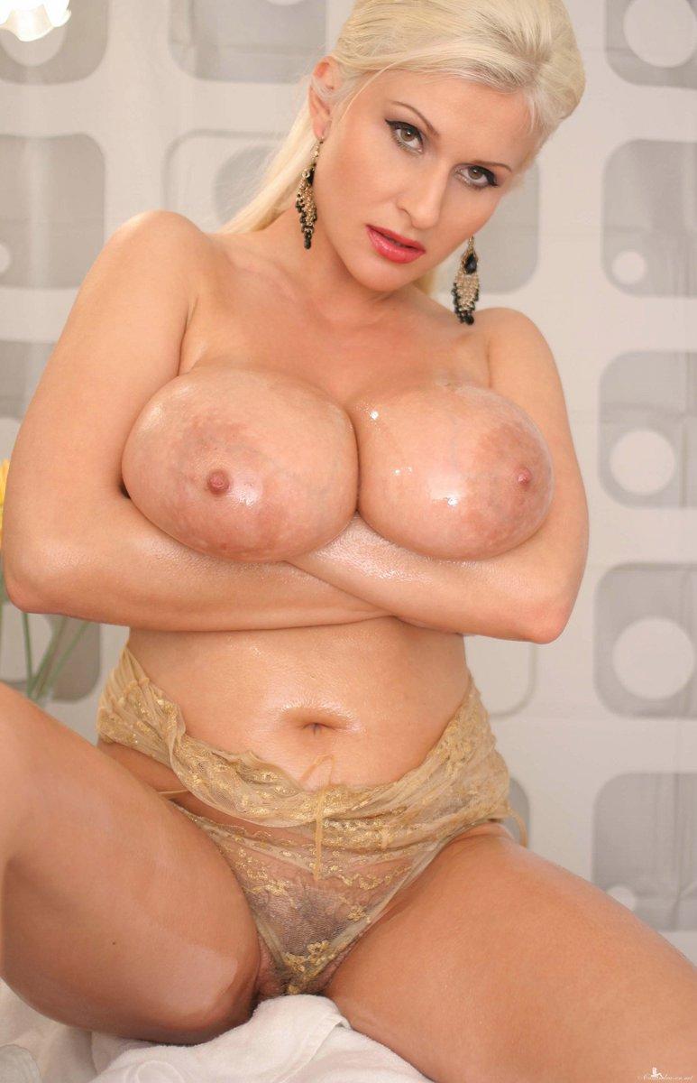 Oily boob