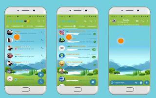Natural  Theme For YOWhatsApp & Fouad WhatsApp By Leidiane