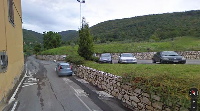 cascate di monticelli brusati parcheggio
