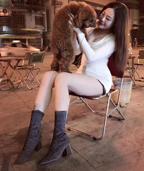 Hot girl Hằng Bi xinh đẹp 14