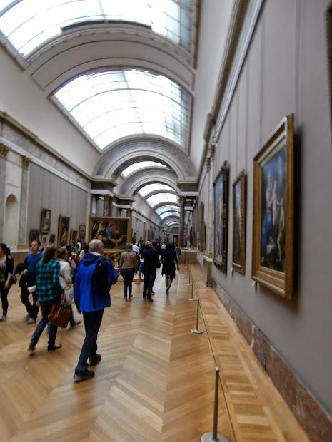 Louvre Museum - Paris France Paintings