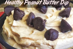 Simple 3 Ingredient Healthy Peanut Butter Dip