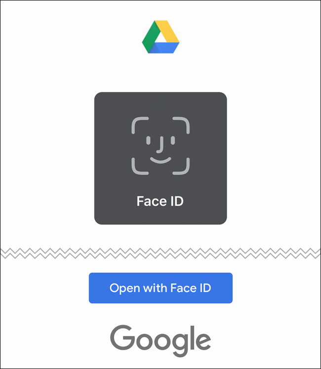 سيستخدم Google Drive الآن Face ID أو Touch ID للمصادقة