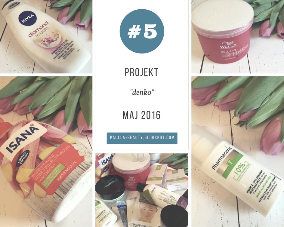 Projekt denko - maj 2016