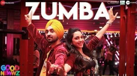 Zumba Lyrics, Romy, Tanishk Bagchi, Good Newwz