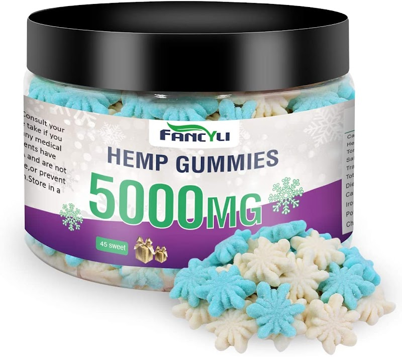 50% OFF Hemp Gummies Premium 5000MG Made in USA
