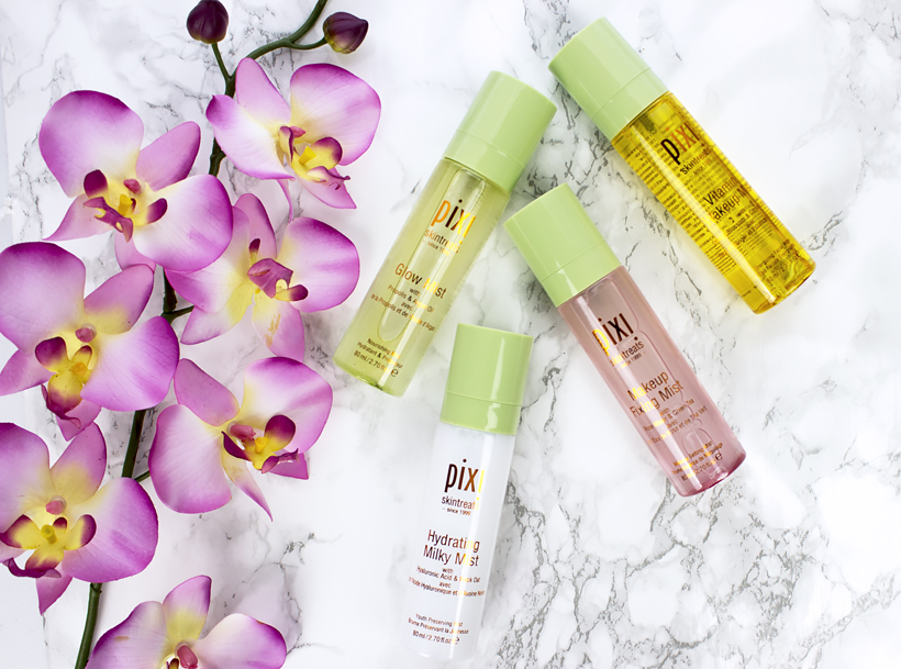Multi Misting with Pixi Beauty Skintreats Face Mists!